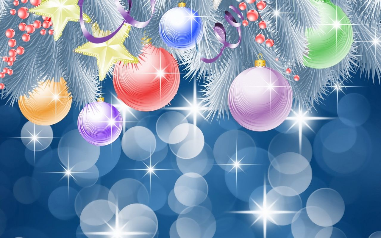 Free Christmas background image for pad computer Samsung Galaxy Tab 10.1 1280*800