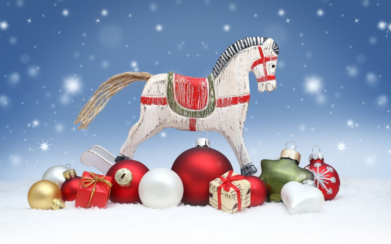 Free Christmas background image for pad computer LG Optimus Pad 1280x800