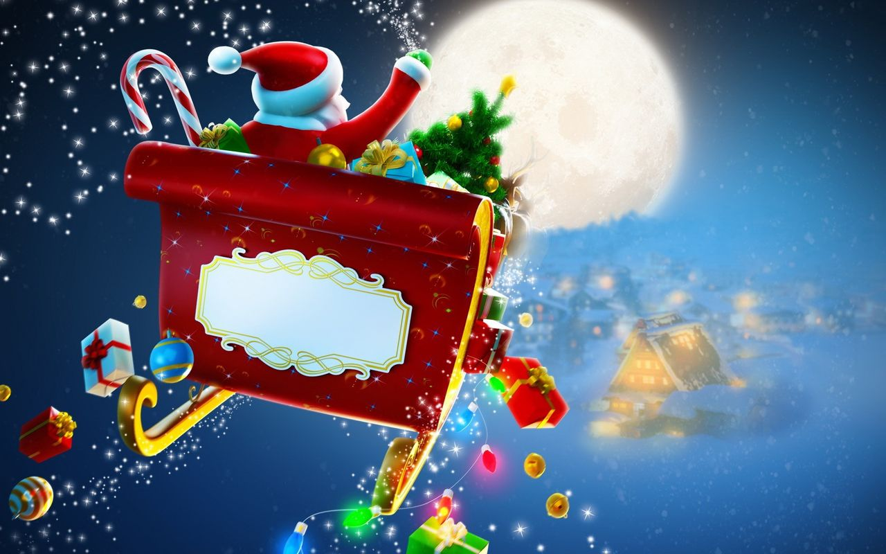 Christmas wallpaper for android tablet Archos 32 1280x800