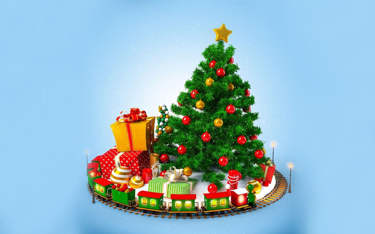 Free Christmas image for android tablet Apple iPad 2 1280x800