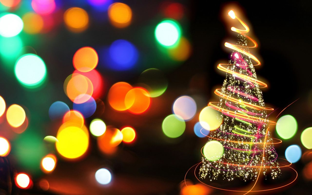 Christmas background image for android tablet Archos 32 1280x800
