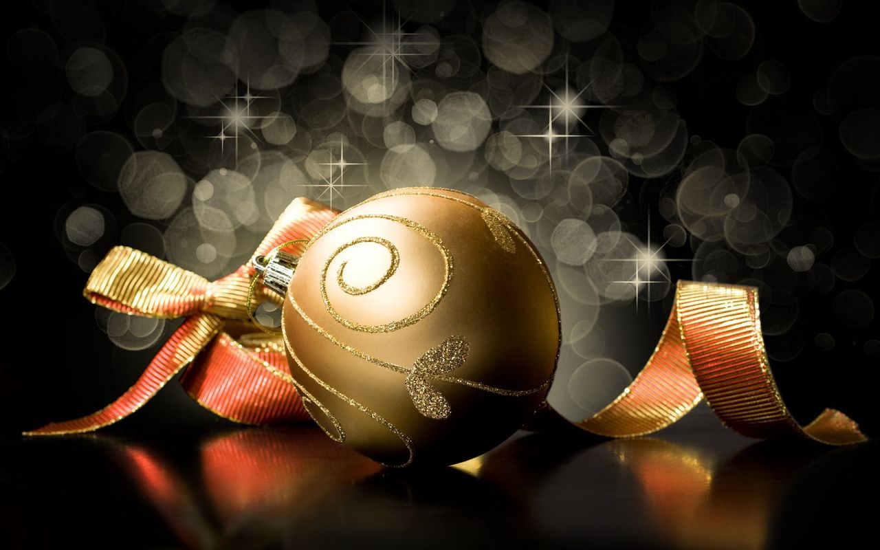Free Christmas background image for your android tablet pc Apple iPad 2 1280x800