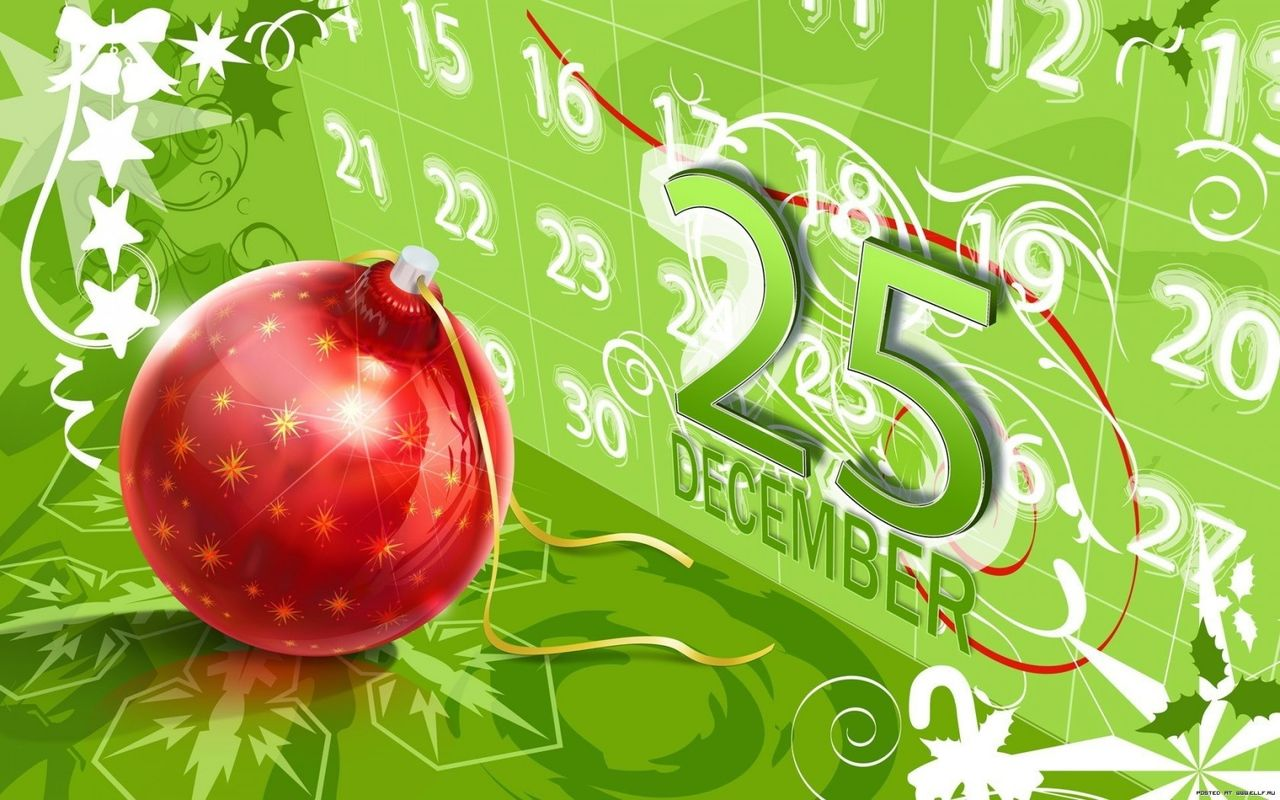 New Year background image for your tablet pc Archos 28 1280x800