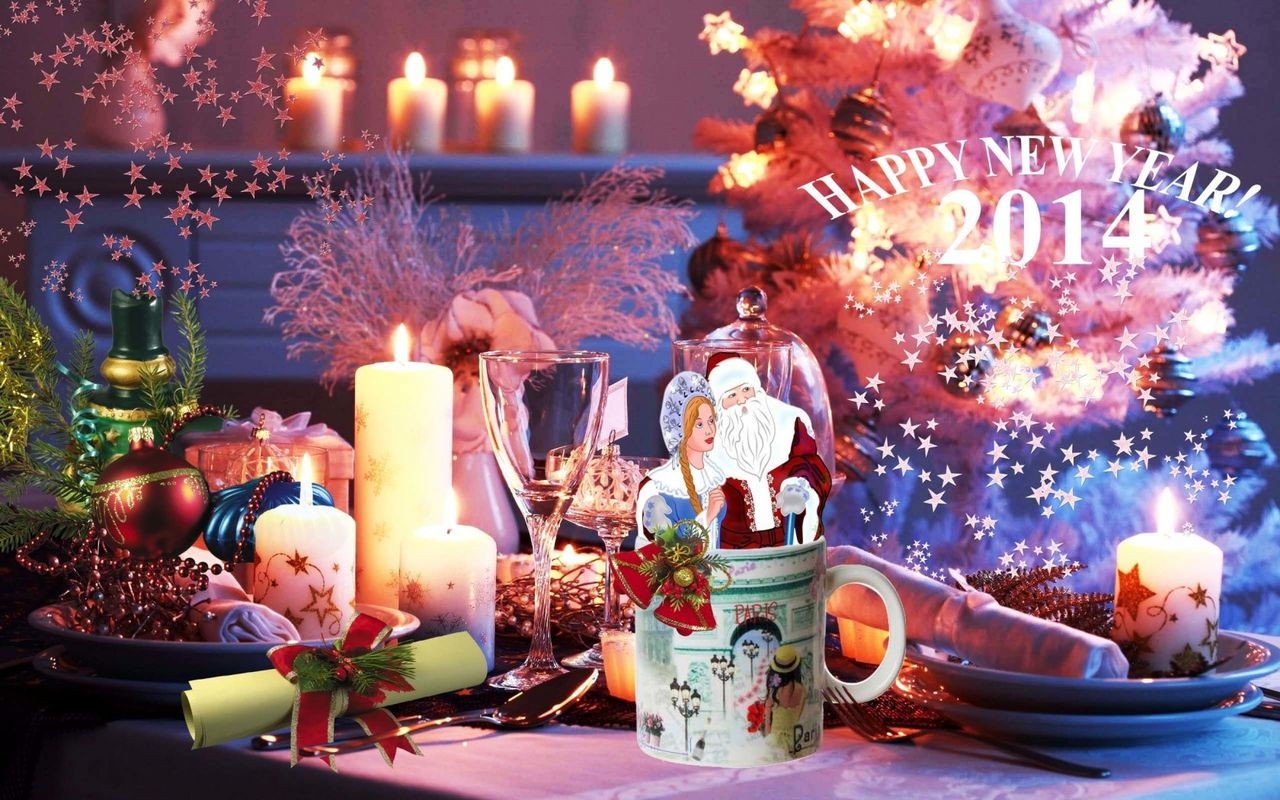 Free Christmas background image for android tablet pc Arnova 8 1280*800