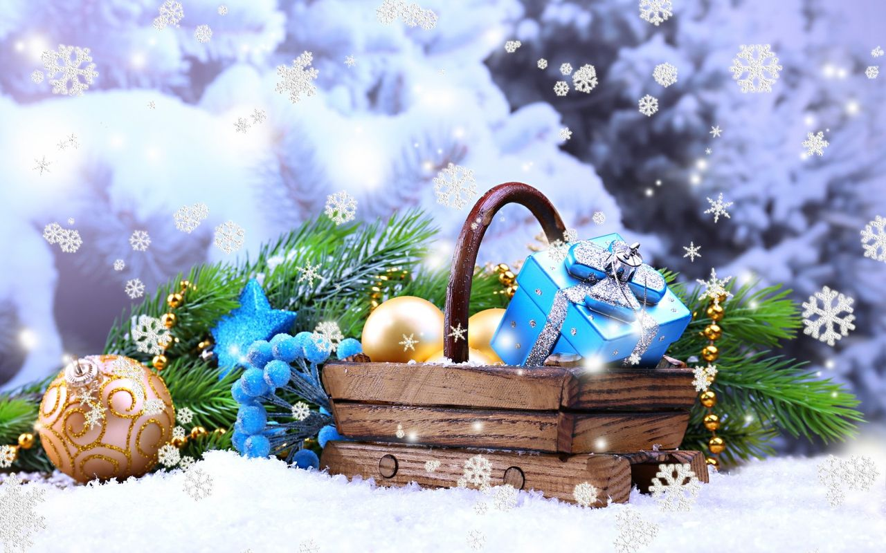 Free New Year background image for android tablet pc Morotolla Xoom 1280x800
