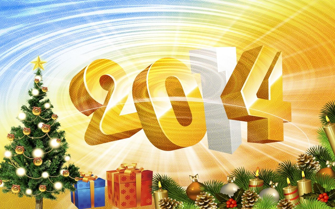 Free New Year image for your android tablet Archos 32 1280*800