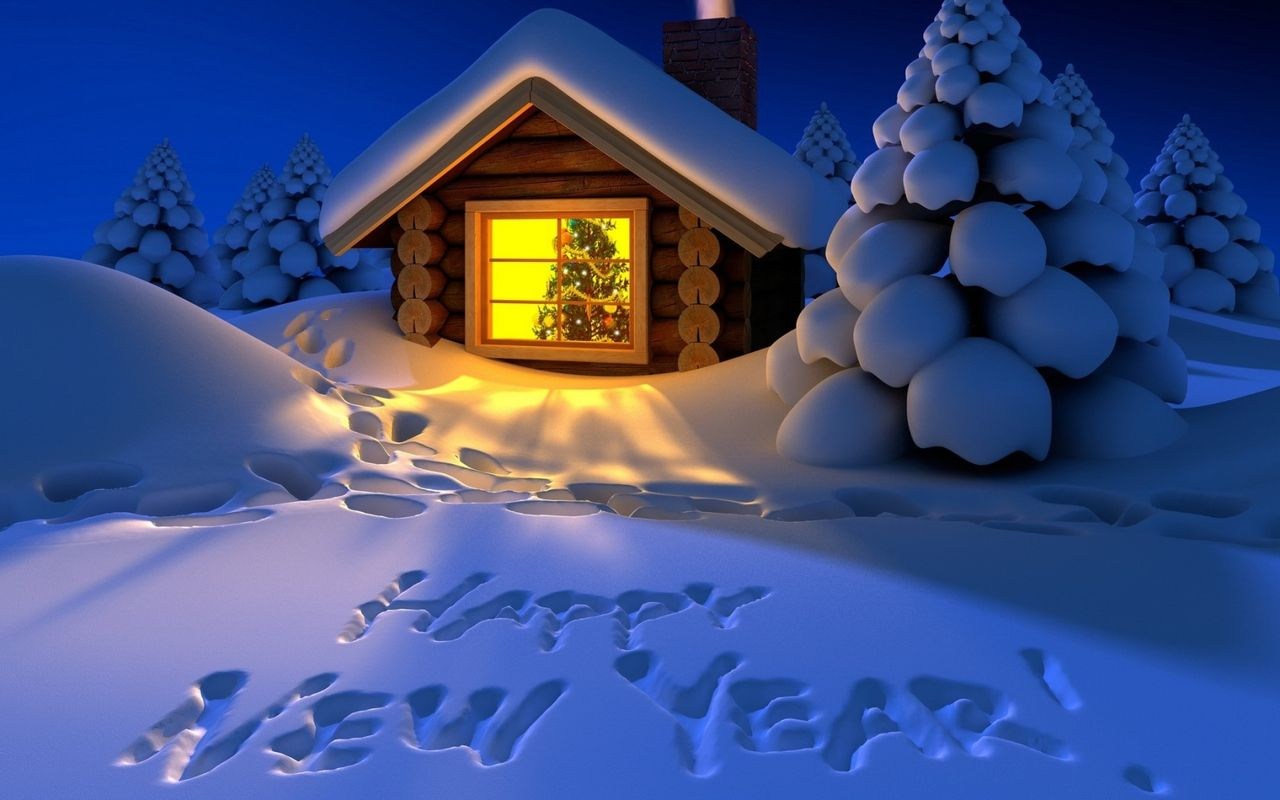 Free New Year wallpaper for your android tablet pc Galaxy Tab 1280x800