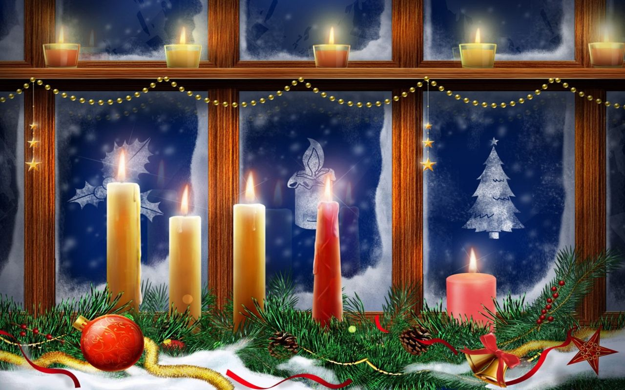 Christmas image for your android tablet pc Apple iPad 1280x800