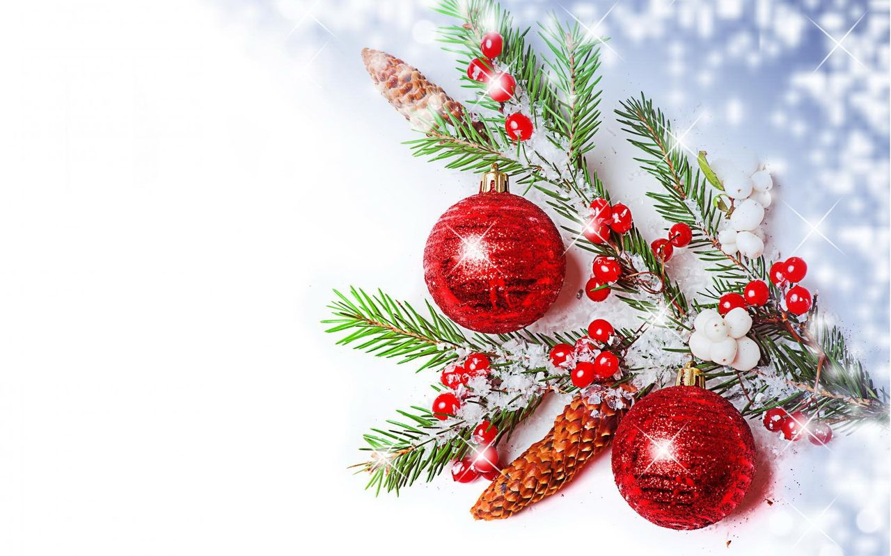 Free Christmas background image for tablet pc Samsung Galaxy Tab 10.1 1280x800