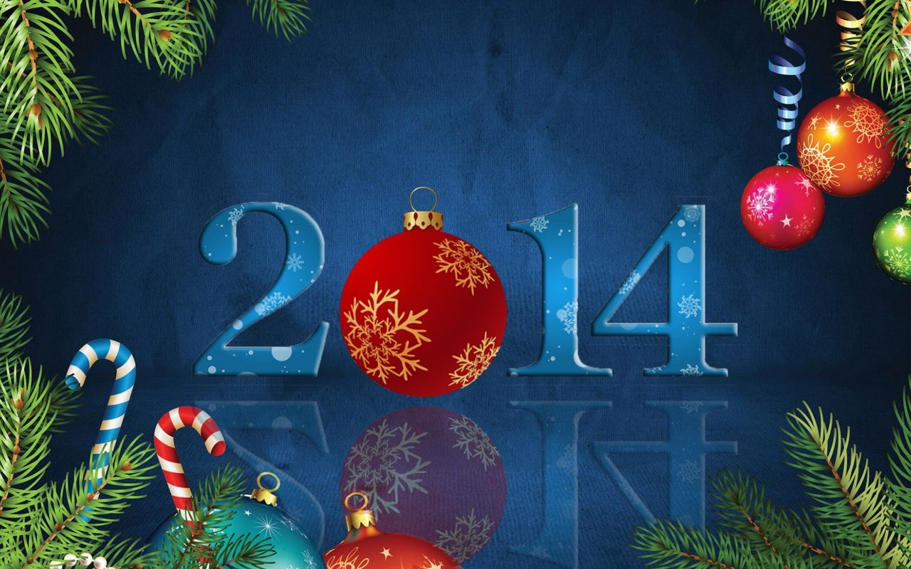 New Year background image for tablet pc Samsung Galaxy Tab 10.1 1280*800
