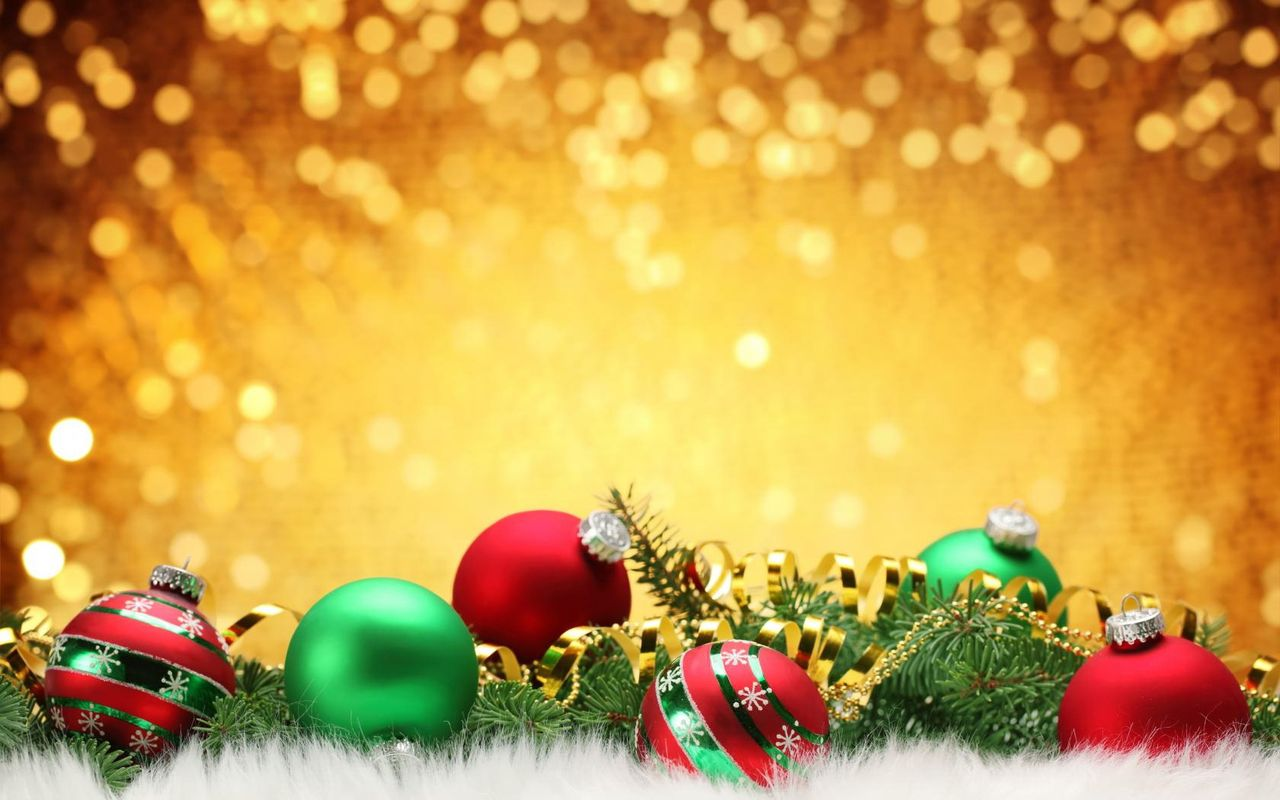 Christmas background image for your android tablet Acer Iconia Tab 1280x800