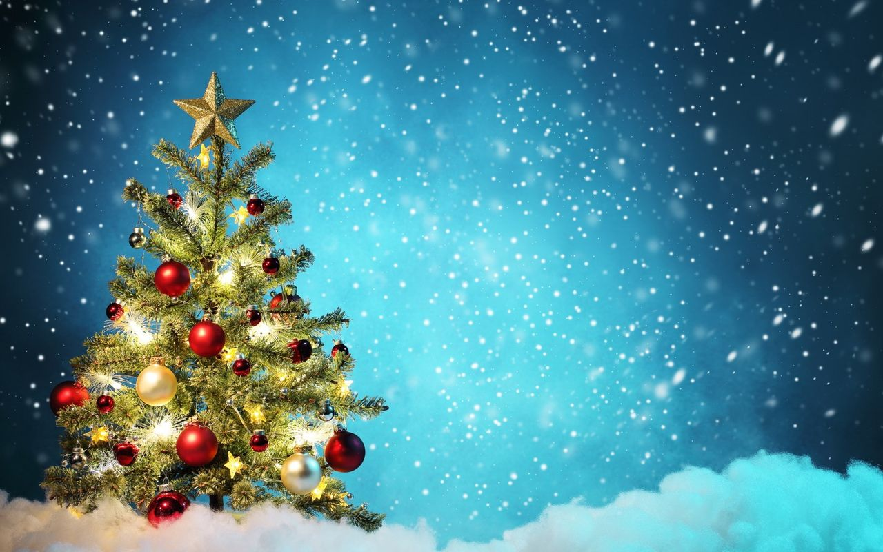 Free Christmas background image for your android tablet pc Morotolla Xoom 1280x800