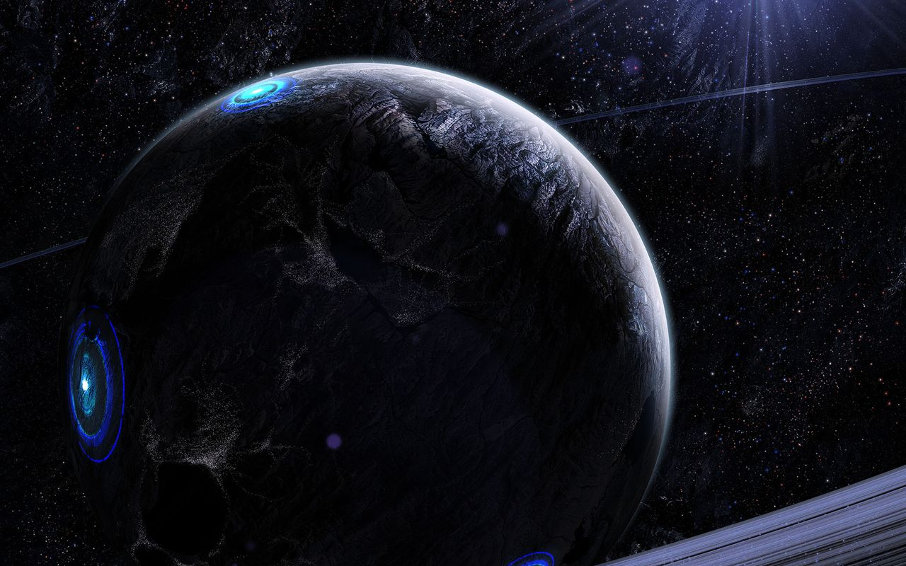 Space Wallpaper for android tablet Asus Eee Pad 1280x800
