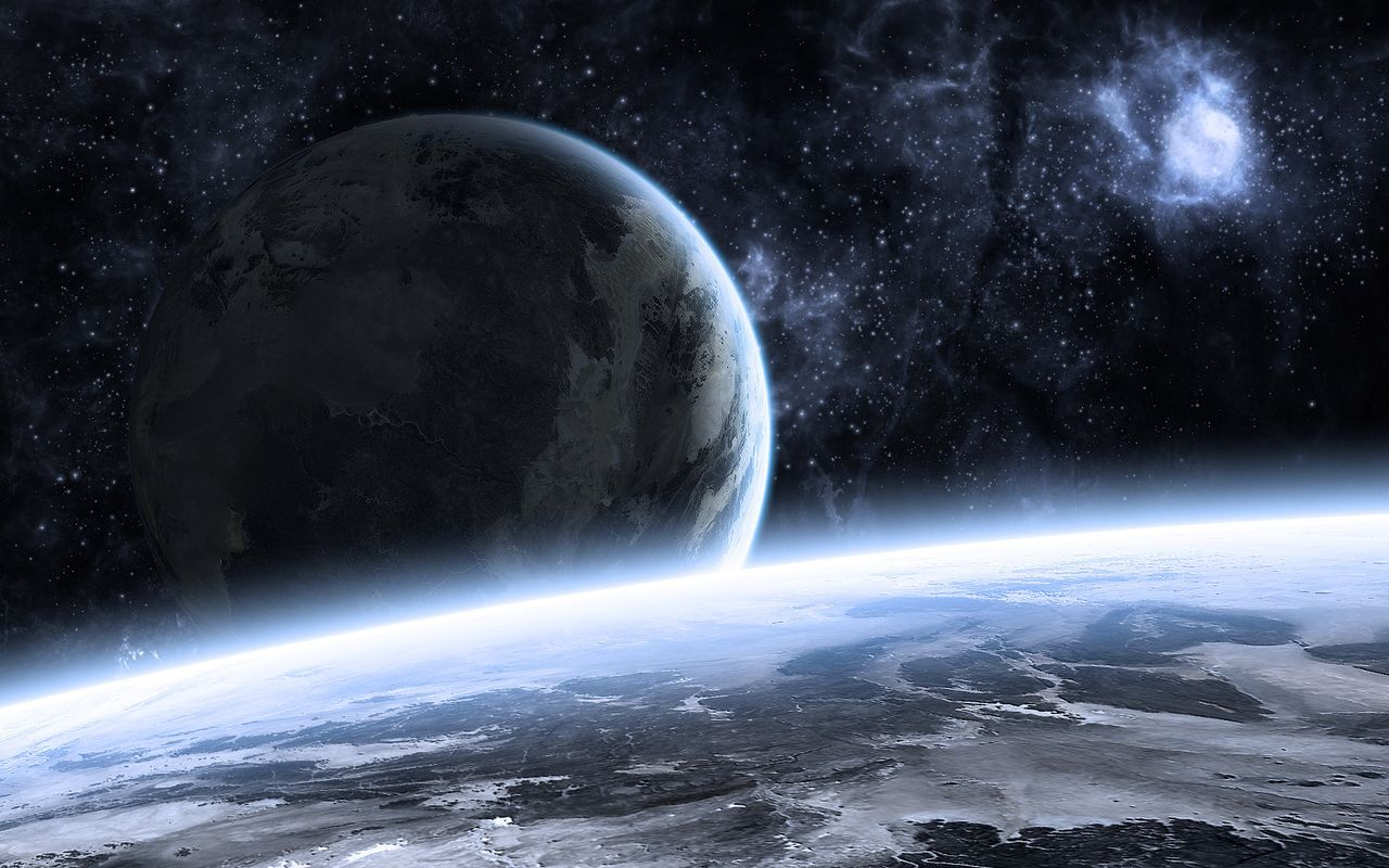Space Background image for tablet pc Acer Iconia Tab 1280*800