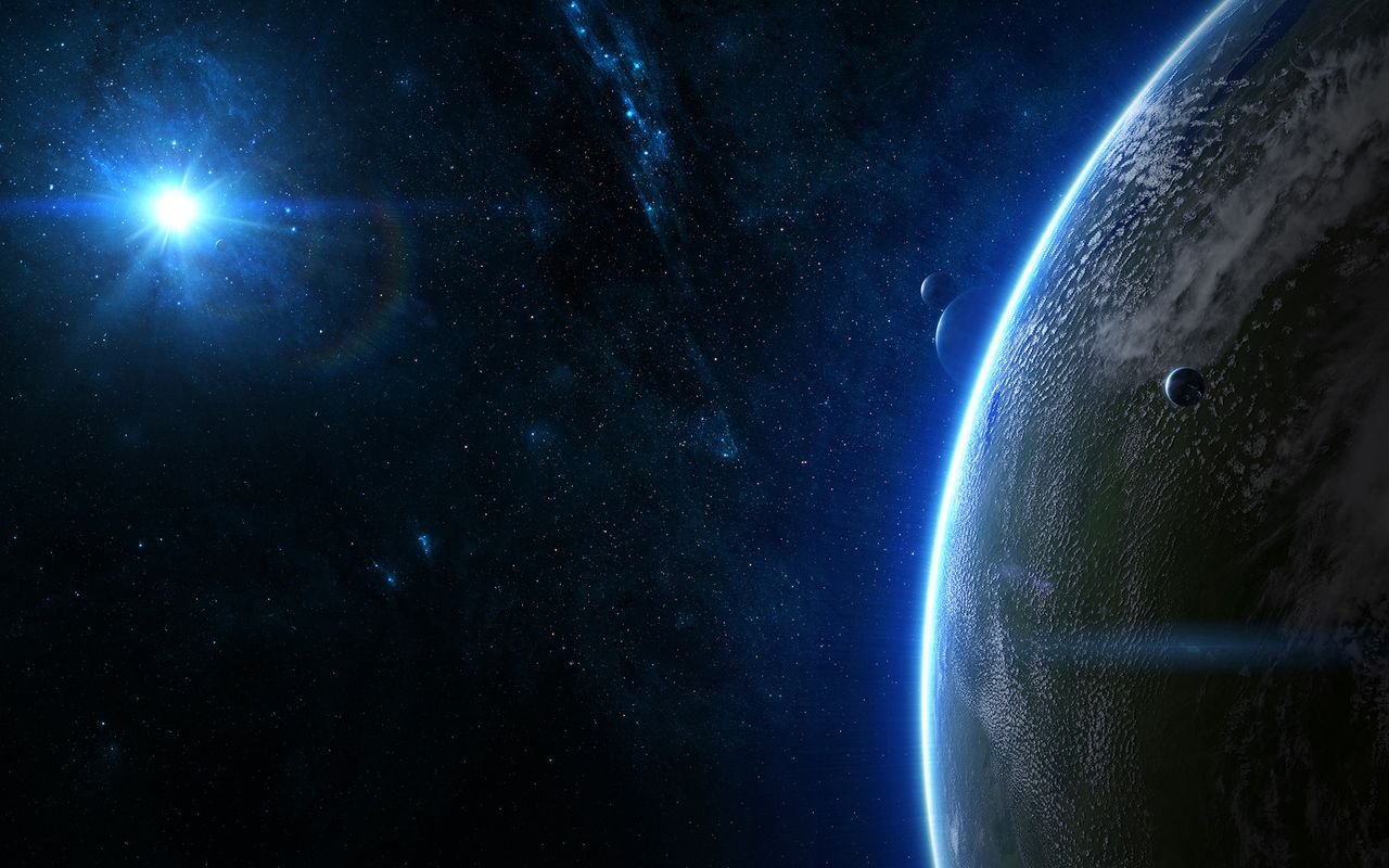 Space Wallpaper for android tablet pc Archos 32 1280*800