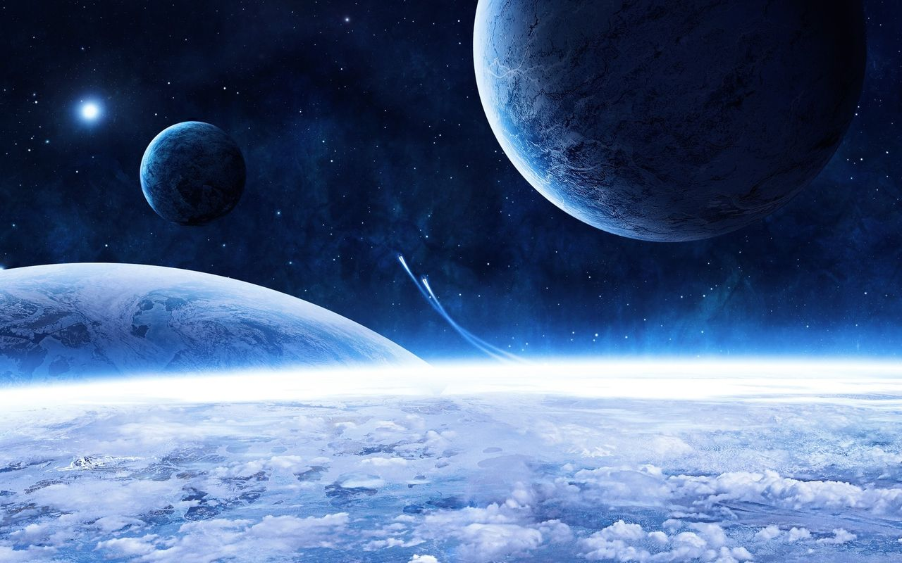 Space Background image for your tablet pc Arnova 8 1280x800