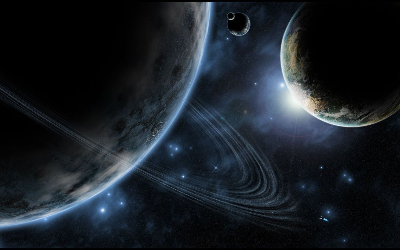 Space Background image for tablet pc LG Optimus Pad 1280*800