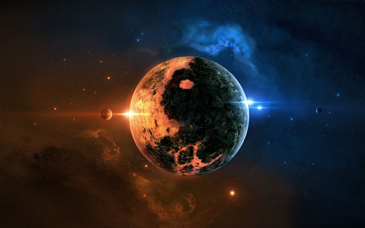 Space Image for your android tablet LG Optimus Pad 1280x800