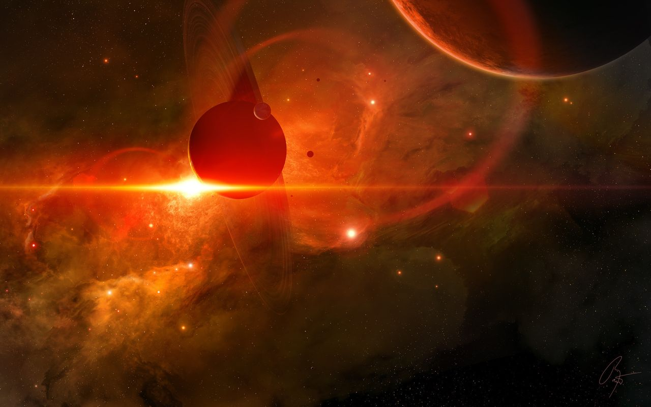 Space Image for your tablet pc Apple iPad 1280x800
