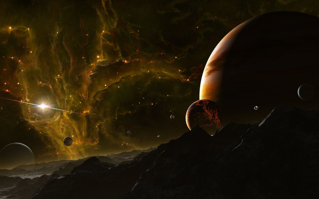 Space Wallpaper for your android tablet pc Apple iPad 2 1280x800