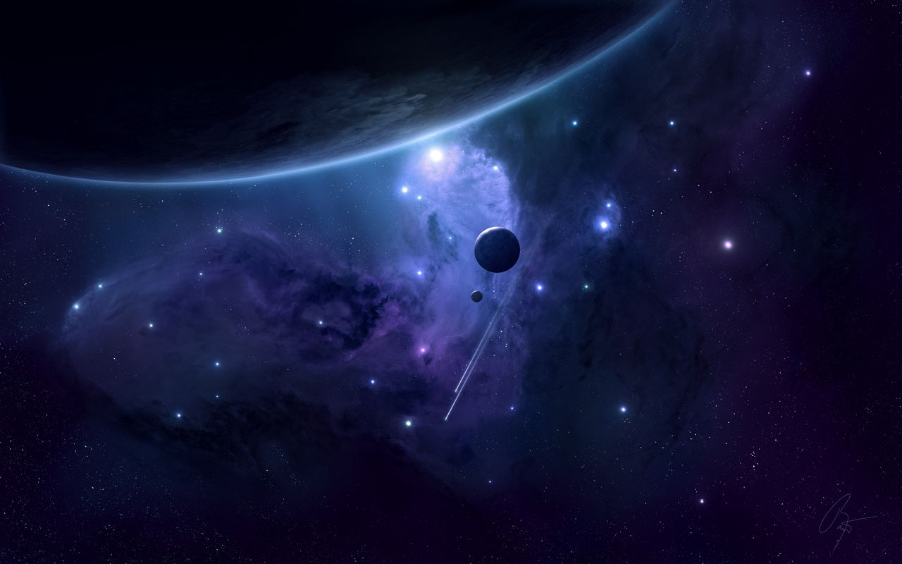 Space Background image for your tablet pc Samsung Galaxy Tab 10.1 1280*800
