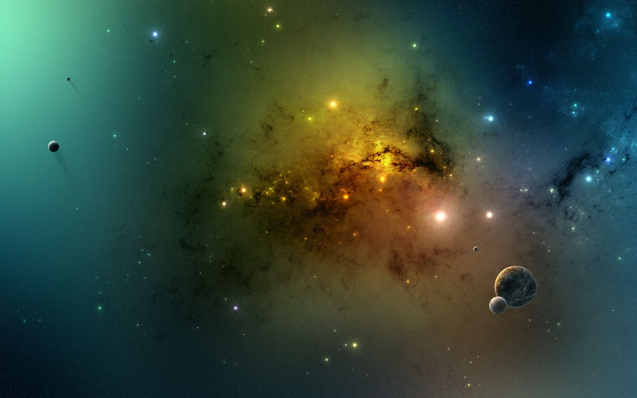 Space Free wallpaper for tablet pc Acer Iconia Tab 1280x800