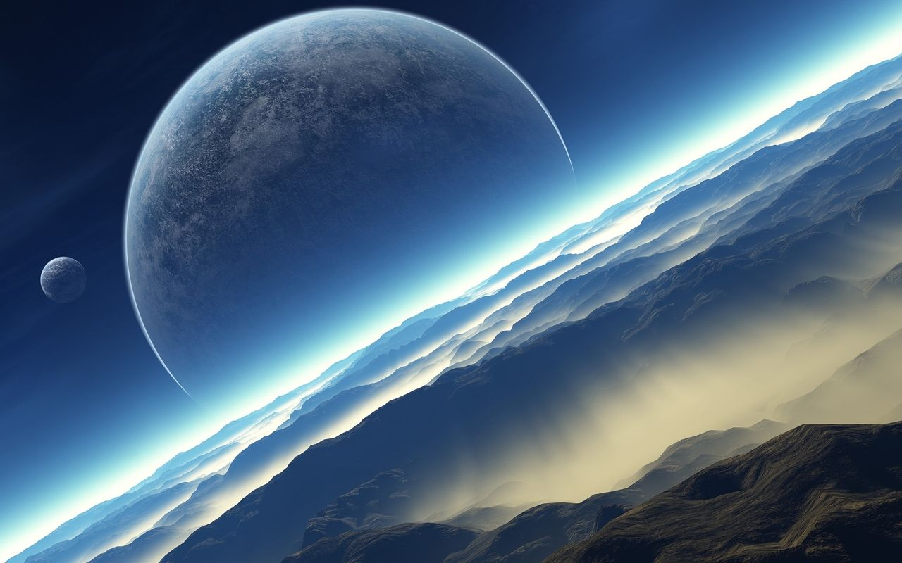 Space Free wallpaper for your android tablet pc MSI Wind Pad 1280x800