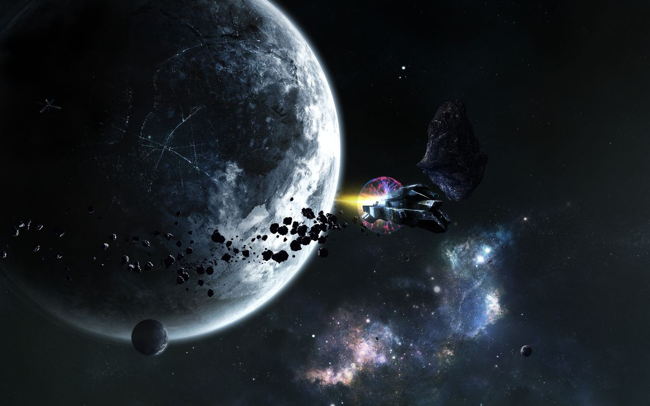 Space Background image for android tablet Apple iPad 2 1280x800
