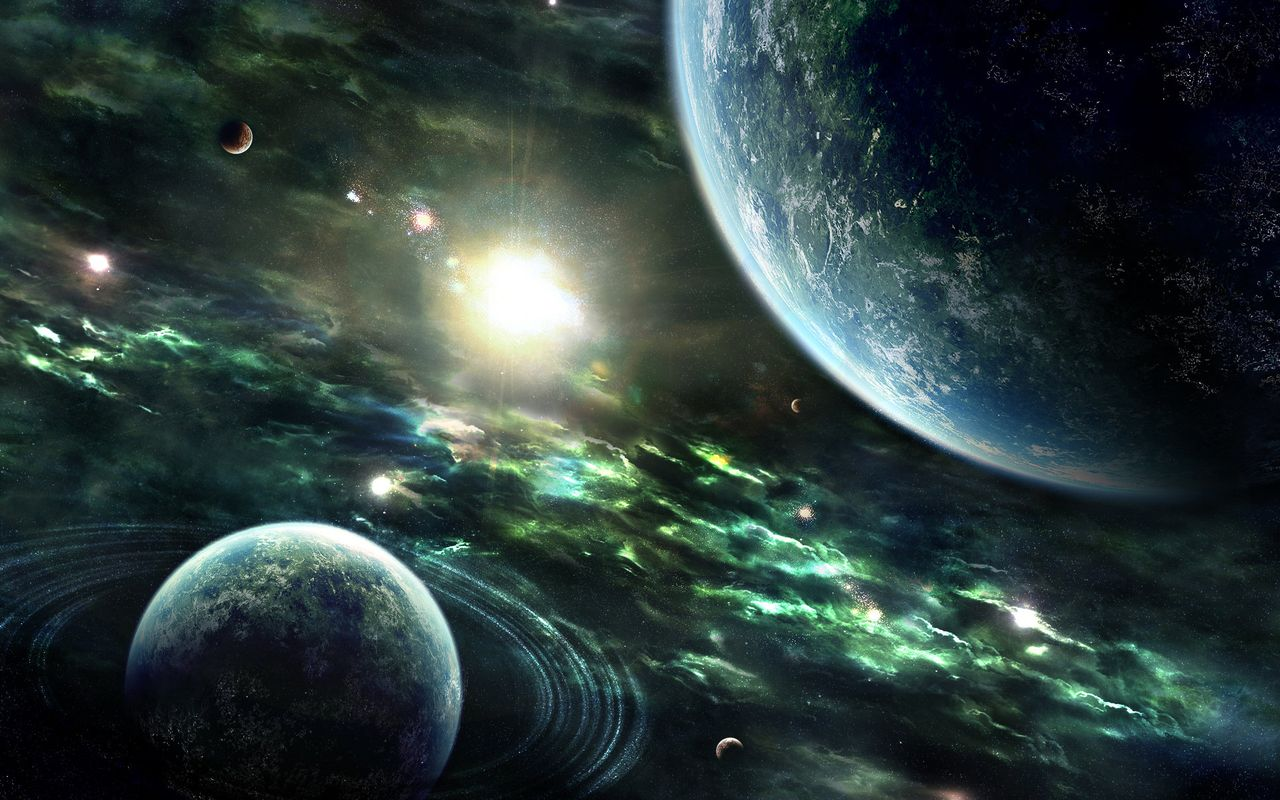 Space Free wallpaper for android tablet Archos 28 1280*800