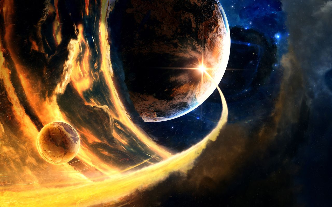 Space Wallpaper for your android tablet Acer Iconia Tab 1280x800