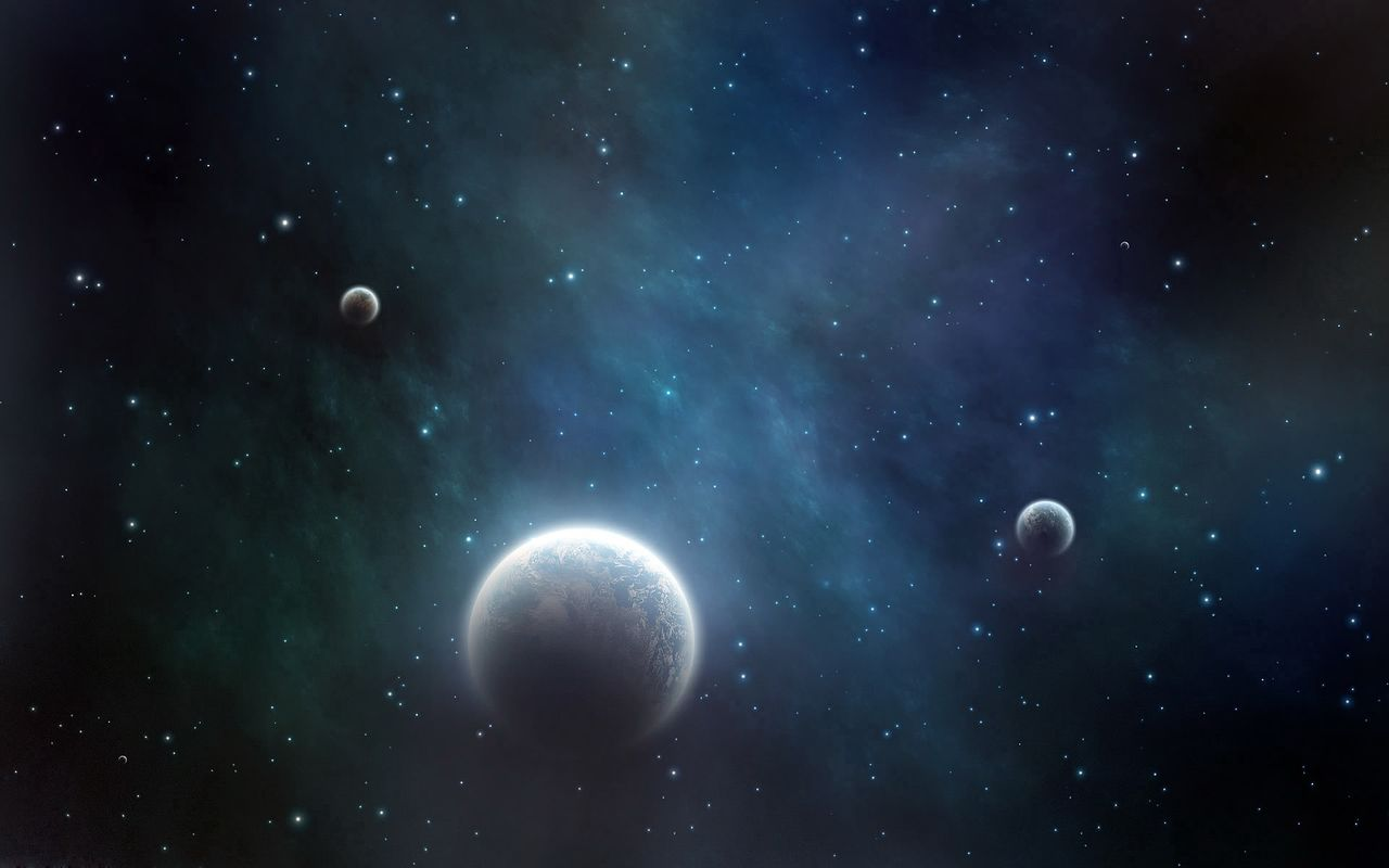 Space Free wallpaper for pad computer Samsung Galaxy Tab 10.1 1280x800