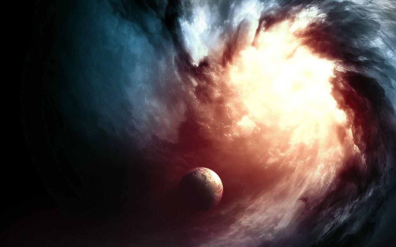 Space Background image for your android tablet Archos 32 1280x800