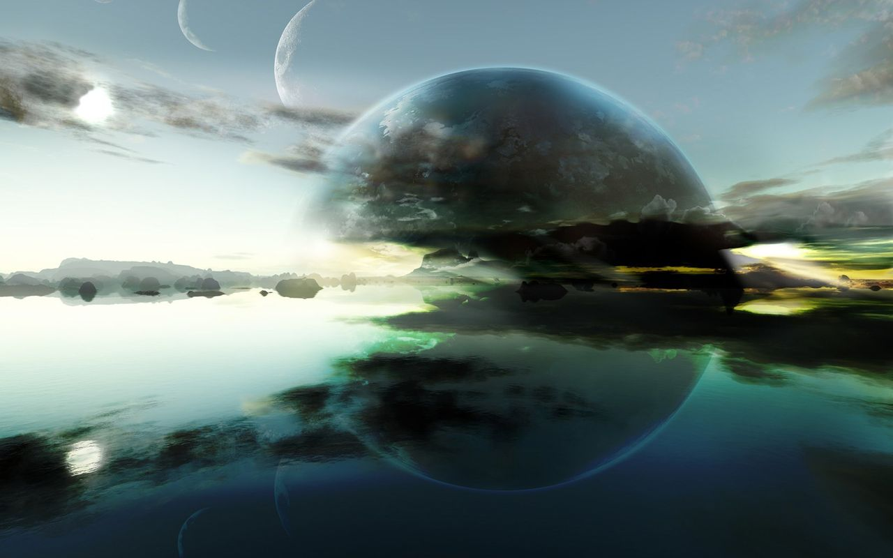 Space Background image for tablet pc Asus Eee Pad 1280*800