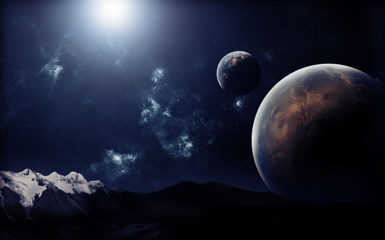 Space Image for your tablet pc Arnova 8 1280*800
