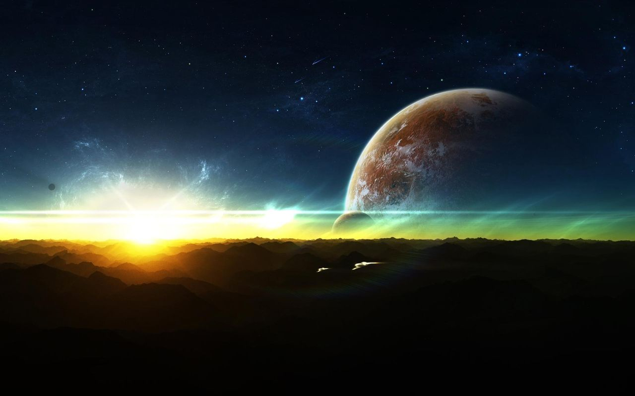 Space Free wallpaper for android tablet pc Acer Iconia Tab 1280x800