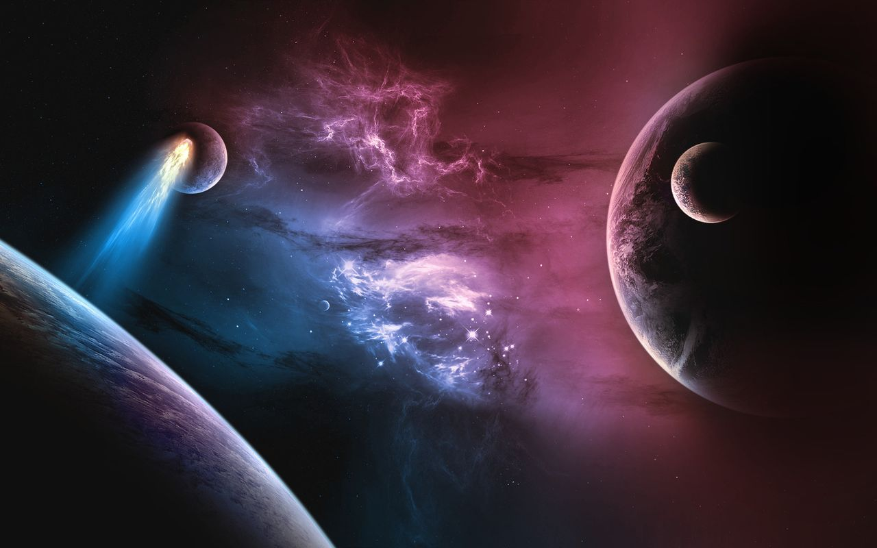 Space Background image for your android tablet LG Optimus Pad 1280x800