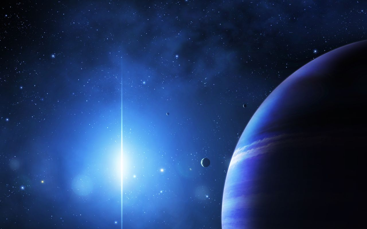 Space Wallpaper for tablet pc LG Optimus Pad 1280x800