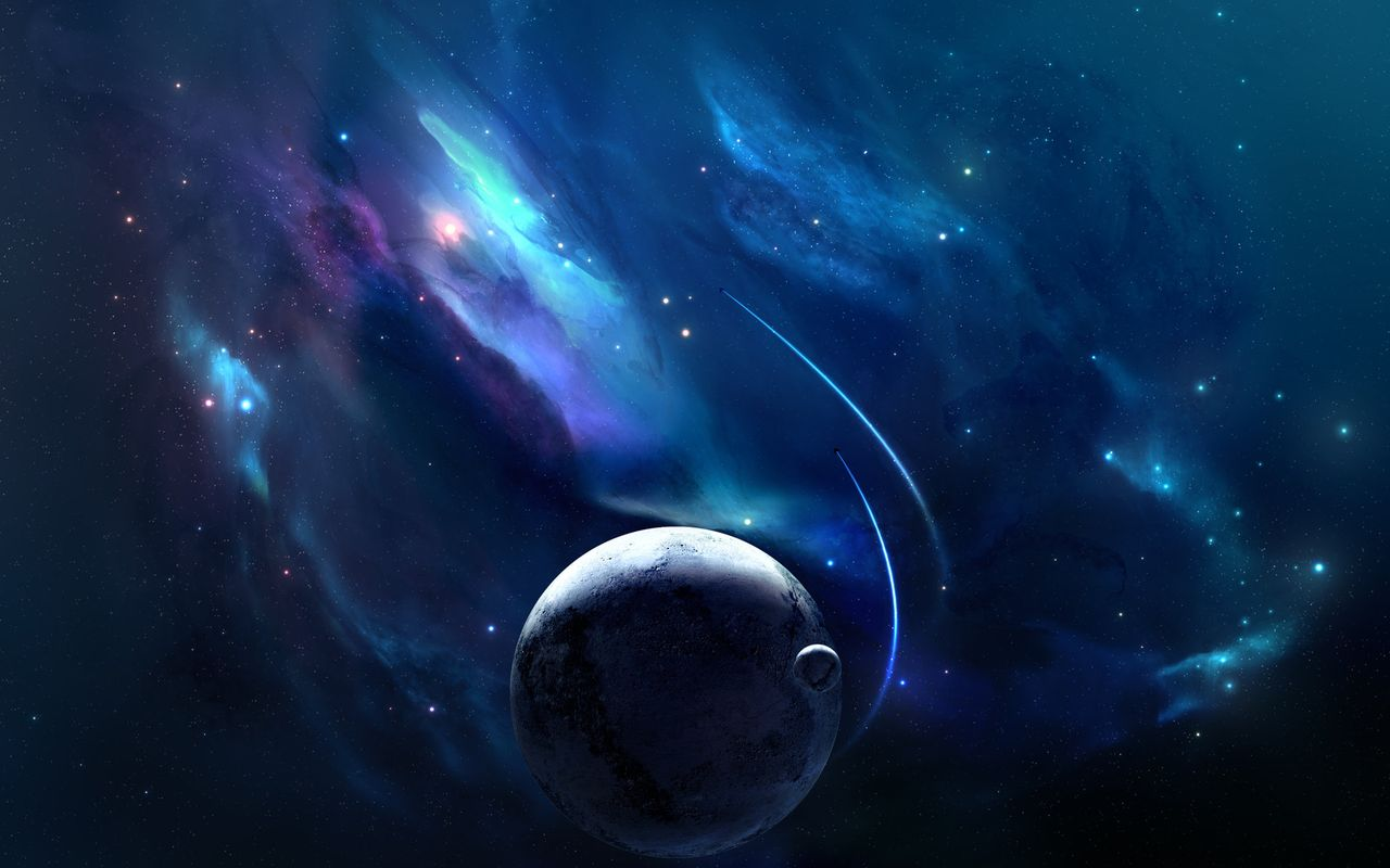 Space Background image for android tablet pc LG Optimus Pad 1280x800
