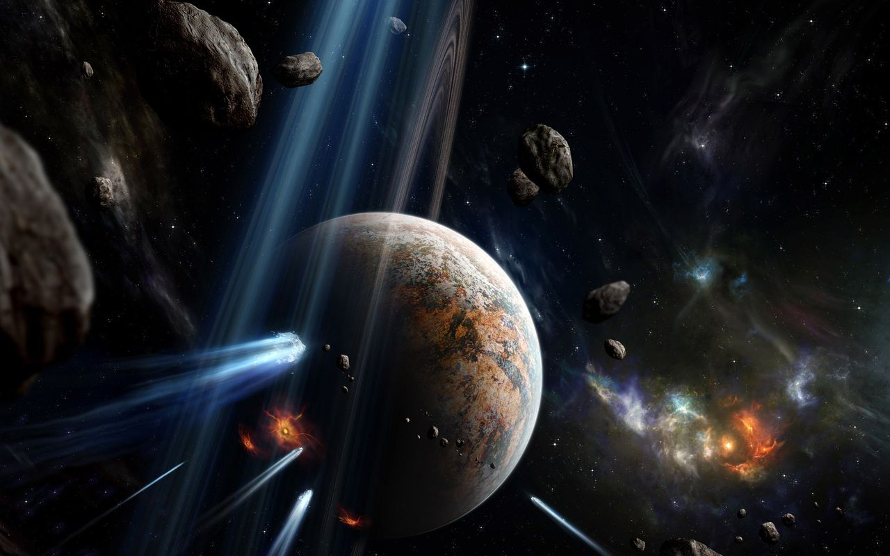 Space Wallpaper for tablet pc Archos 32 1280x800