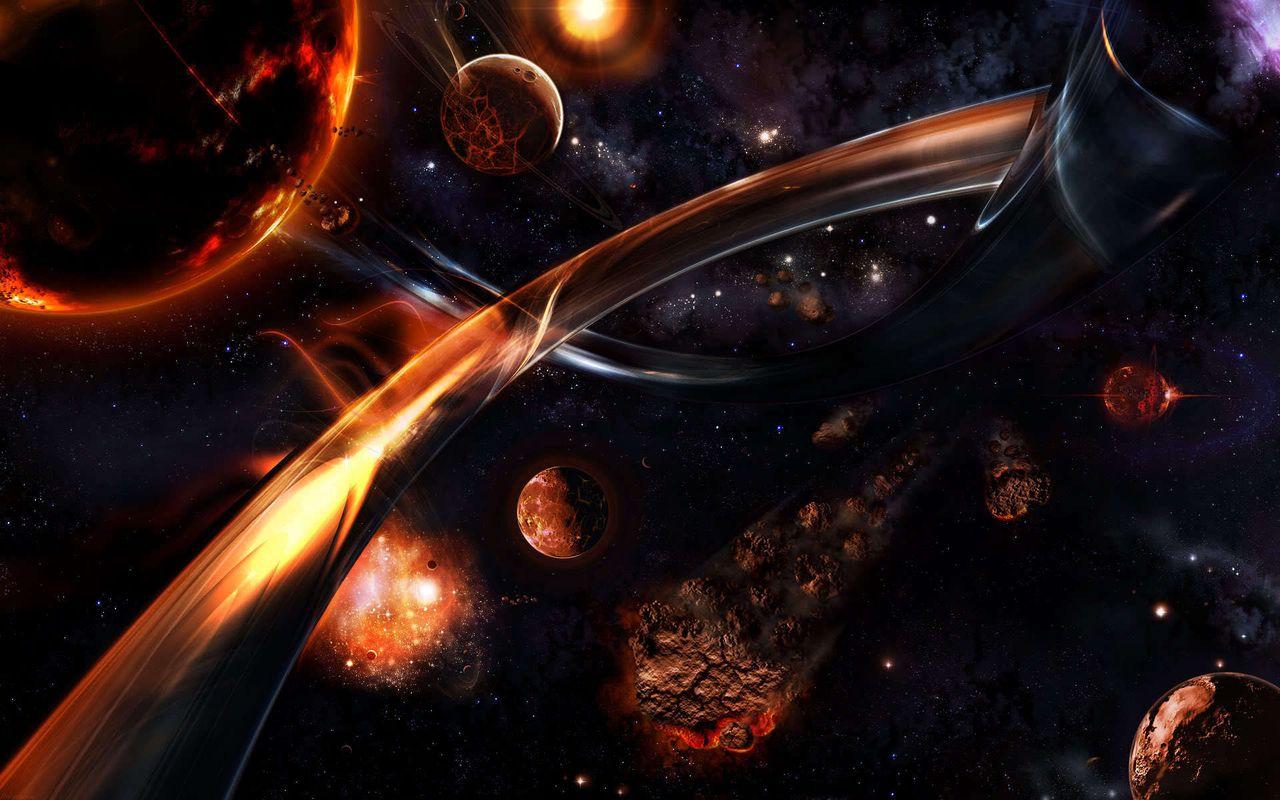 Space Image for your tablet pc Archos 28 1280x800