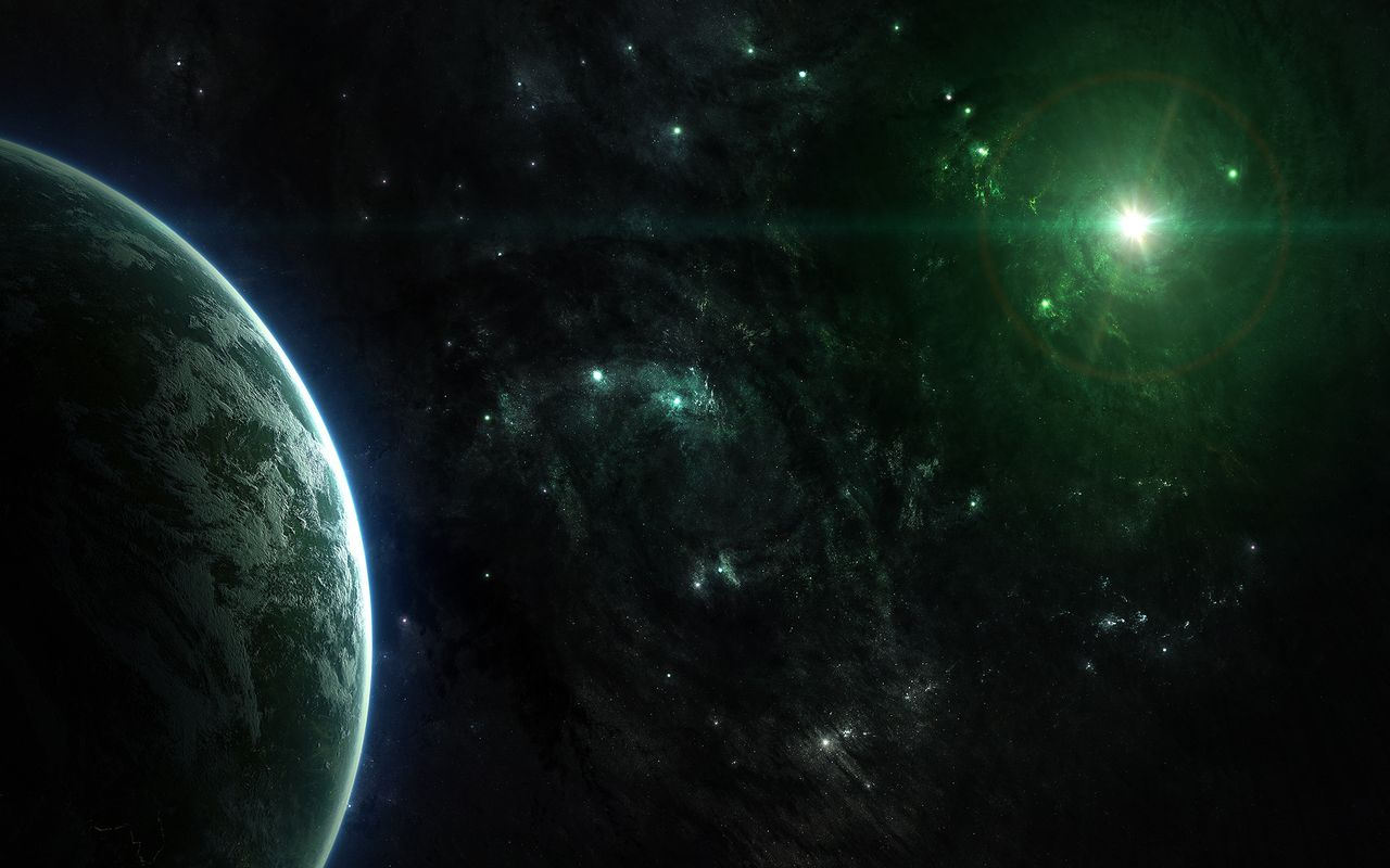 Space Free wallpaper for android tablet pc Archos 32 1280*800